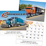 18 Wheeler Wall Calendars